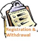 Registration and Withdrawal